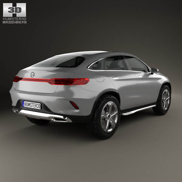 mercedes benz coupe suv 2014 3d model humster3d