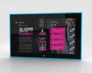 3D model of Nokia Lumia 2520 Cyan