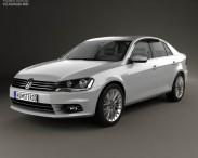 3D model of Volkswagen Bora (CN) 2012