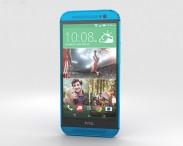 3D model of HTC One (M8) Aqua Blue