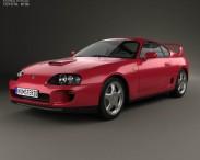 3D model of Toyota Supra 1993