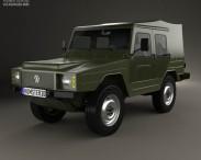 3D model of Volkswagen Iltis 1978