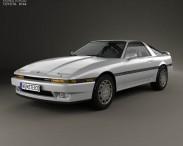 3D model of Toyota Supra 1986