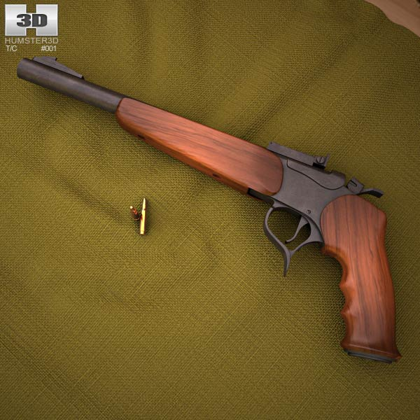 3D model of Thompson Contender G2