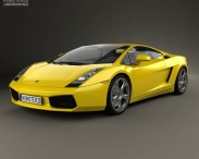 3D model of Lamborghini Gallardo 2003