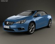 3D model of Vauxhall Cascada 2013
