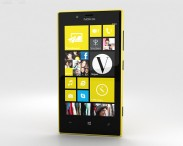 3D model of Nokia Lumia 720 Yellow