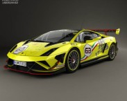 3D model of Lamborghini Gallardo LP 570-4 Super Trofeo 2013