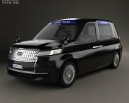 3D model of Toyota JPN Taxi 2013