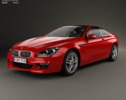 3D model of BMW M6 (F13) Coupe 2012