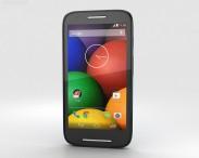 3D model of Motorola Moto E Turquoise & Black