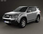 3D model of Isuzu MU-X 2013