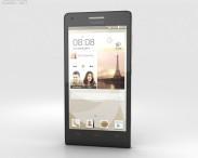 3D model of Huawei Ascend P7 Mini Black