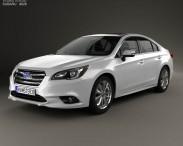 3D model of Subaru Legacy 2014