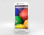 3D model of Motorola Moto E Spearmint & White