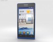 3D model of Huawei Ascend G6 Blue