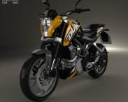 3D model of KTM 125 Duke 2011