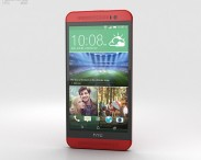 3D model of HTC One (E8) Red
