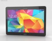 3D model of Samsung Galaxy Tab 4 10.1-inch LTE Black