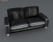 3D model of Space Two-Seat Sofa