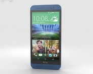 3D model of HTC One (E8) Blue