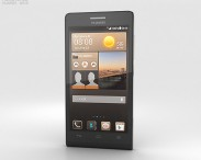 3D model of Huawei Ascend G6 Black
