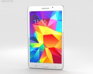 3D model of Samsung Galaxy Tab 4 7.0-inch White