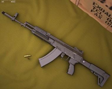 3D model of AK-12