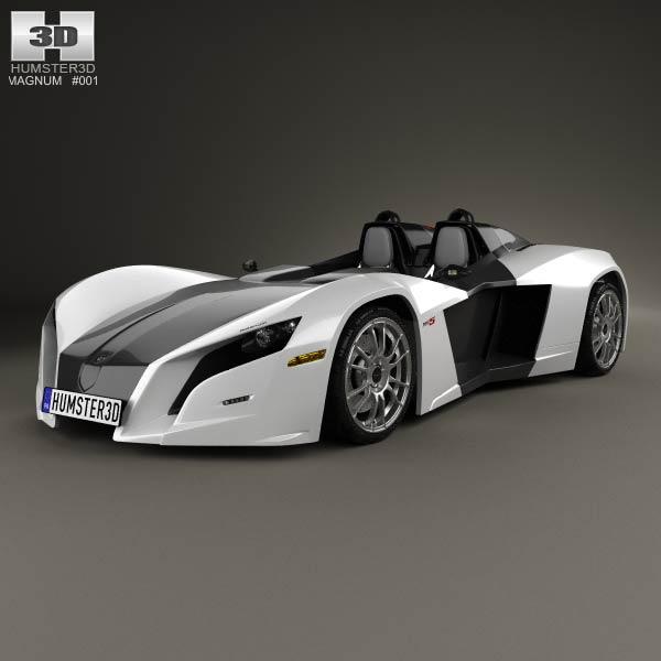 3D model of Magnum MK5 2014