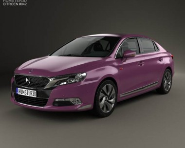 3D model of Citroen DS 5LS 2014