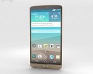 3D model of LG G3 Shine Gold