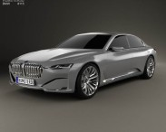 3D model of BMW Vision Future Luxury 2014