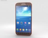 3D model of Samsung Galaxy S4 Active Orange Flare