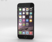 3D model of Apple iPhone 6 Space Gray