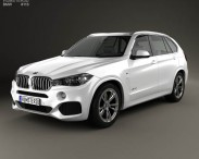 3D model of BMW X5 M Sport Package (F15) 2014