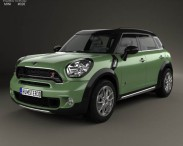 3D model of Mini Cooper Countryman SD All4 2014
