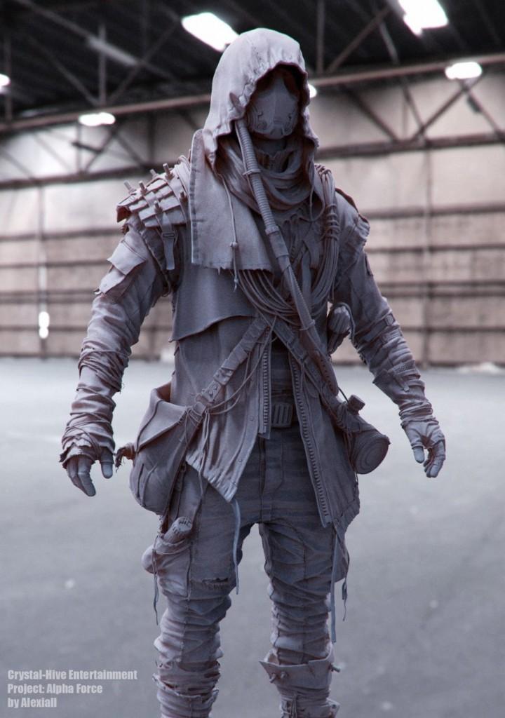 Post apocalyptic Character — Marcus