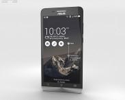 3D model of Asus Zenfone 6 Charcoal Black