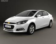 3D model of Chevrolet Cruze (CN) 2014