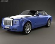 3D model of Rolls-Royce Phantom Drophead Coupe 2008