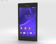 3D model of Sony Xperia T3 Black