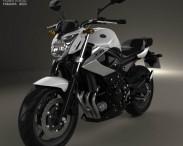 3D model of Yamaha XJ6 2009