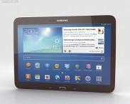 3D model of Samsung Galaxy Tab 3 10.1-inch Gold Brown