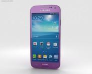 3D model of Samsung Galaxy S4 Mini Purple