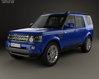 3D model of Land Rover Discovery 2014