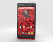 3D model of Motorola Droid Maxx Red