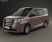 3D model of Toyota Noah G 2014