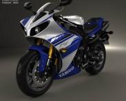 3D model of Yamaha R1 2014
