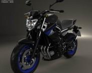 3D model of Yamaha XJ6 2014