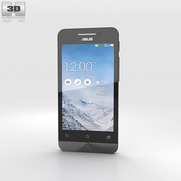 3D model of Asus Zenfone 4 Pearl White